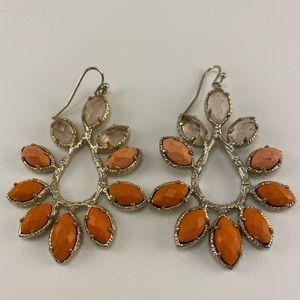 Kendra Scott Nyla Coral Earrings